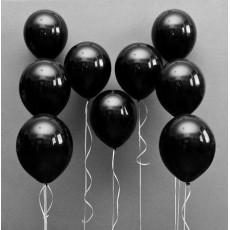 Черные шарики с гелием
