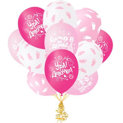Воздушные шары Спасибо за дочку