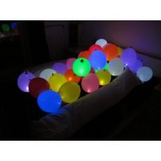 Воздушные  шары светящиеся на пол