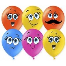 Воздушные шары Милые Смайлы